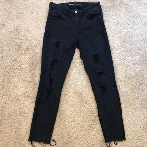 "Old Navy Black ""Rockstar"" Jeans"